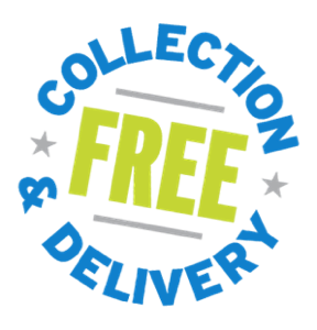 Free collection and delivery
