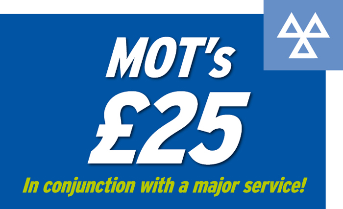 MOT Offer panel Phil Wood Motor Services, ferring, East Preston, Worthing and Littlehampton